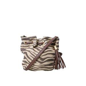 Michael Kors Zebra Shimmer Crossbody